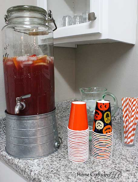 Fall Harvest Punch family friendly beverage for party