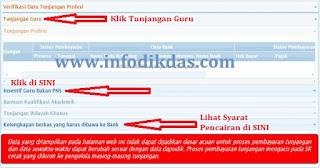 Cara Melihat SK Tunjangan / Insentif Guru di Layanan Info GTK Melalui Akun SIM PKB