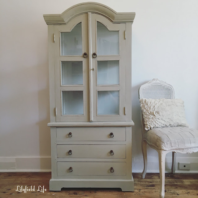 french style armoire cabinet by Lilyfield Life