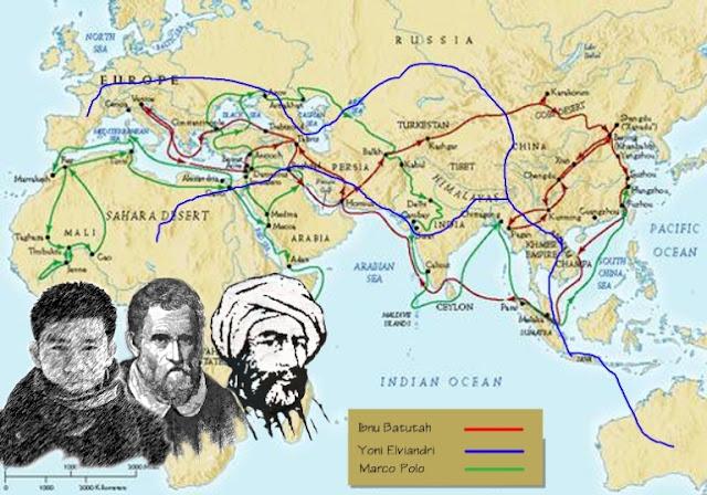 Ibnu Bathuthah Orang Pertama Yang Keliling Dunia