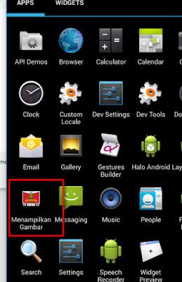 Tutorial Android 4 - Menampilkan Gambar dan Menampilkan Icon di menu