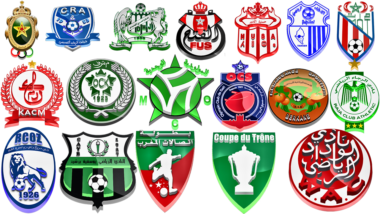 PES 2019 3D HD logos Morroco Botola league by ali.chila & Genko06