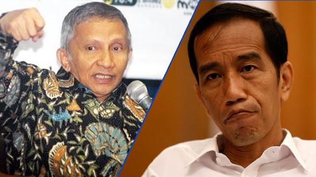 PDIP Minta Amien Rais Minta Maaf Bilang Jokowi Ngibul, Hanura: Mana Mungkin Mau, Kebencian Dia Amat Sangat, Seperti Kanker...
