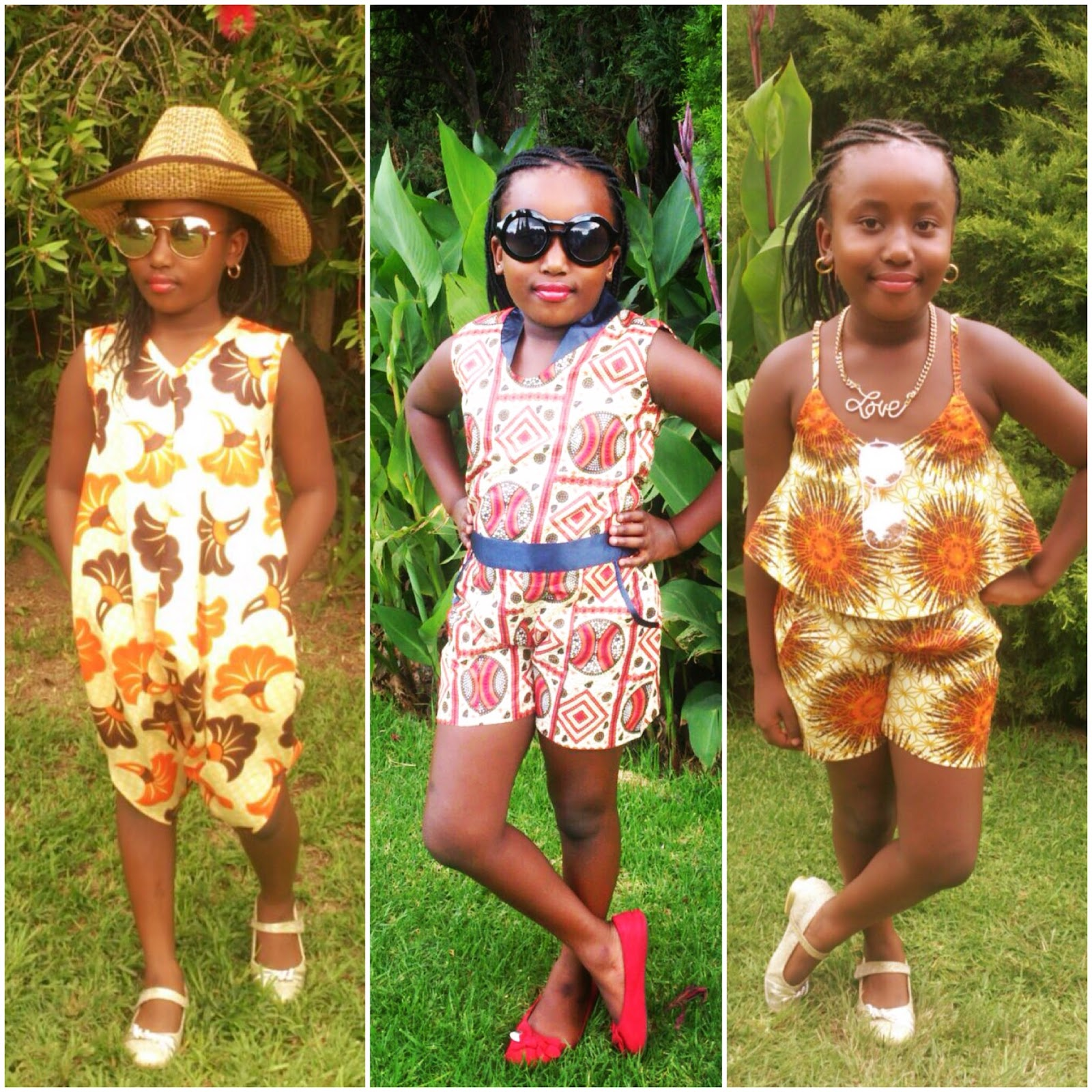 Traditional african clothing for kids photo catalog photo