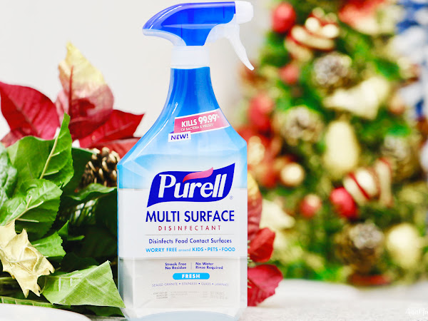 3 Easy Ways to Keep Germs at Bay this Holiday ~ #PURELLSurface #DisinfectWorryFree