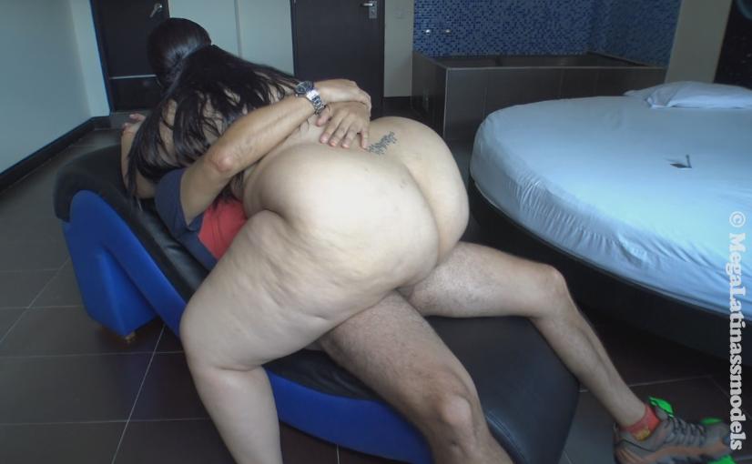 Big butt nina kayy gets a big black dick with her boober app - 1 part 10