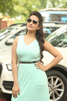 Manjusha in beautiful thin green gown At Jaya Janaki Nayaka le Logo Launch ~  Exclusive 116.JPG