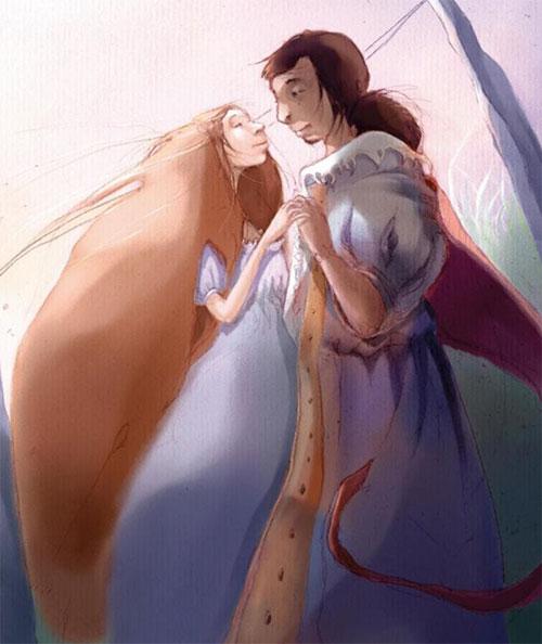 Love Each Other When Two Souls: SurLaLune Fairy Tales Blog: France Month: La Belle Et La