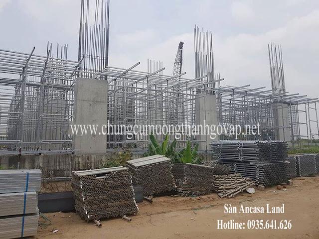 Tiến độ xây dựng dự án Mường Thanh Gò Vấp Sài Gòn Ngày 09/04/2019