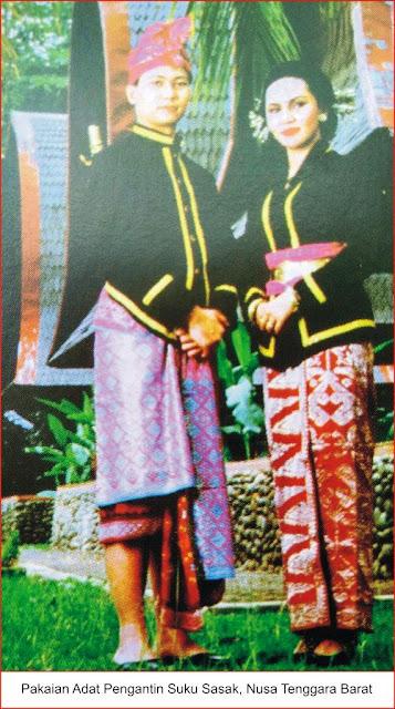 gambar pakaian adat suku sasak, ntb