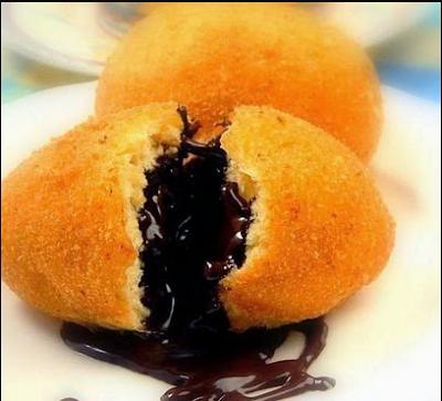 Resep Kue Goreng Sederhana Isi Cokelat