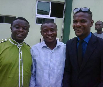 Major throwback photo of Elenu, Mc Galaxy and Shakara