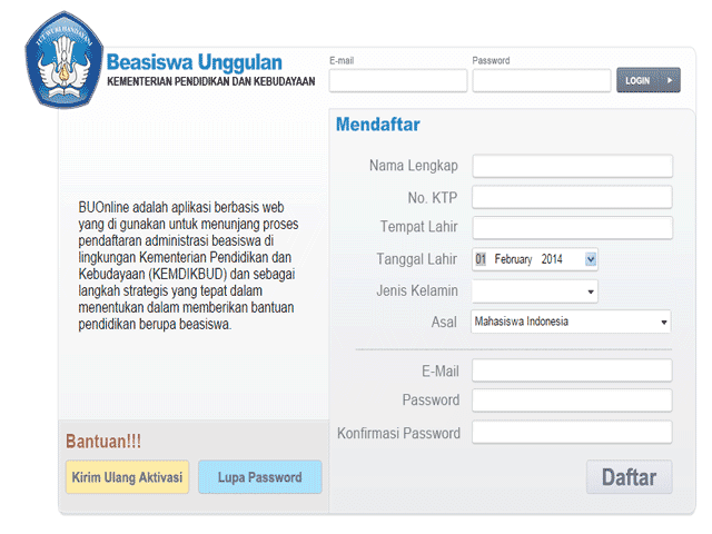 Buruan Daftar di BUOnline Untuk Mendapatkan Beasiswa S1/S2/S3 Gratis dari Kemendikbud