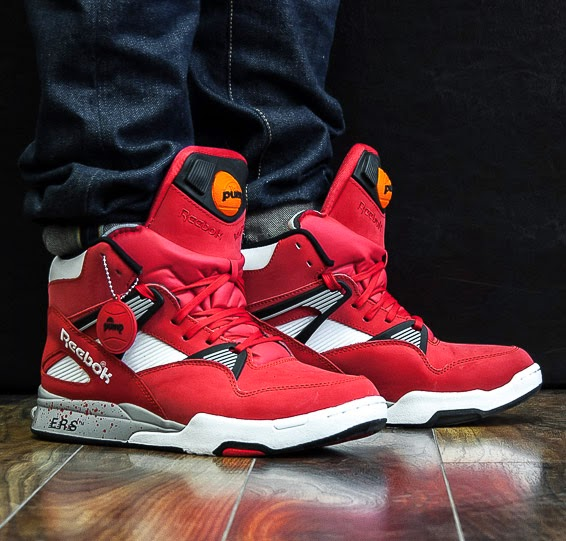 dd7aec67b4a SOLEKITCHEN  Reebok - Pump Omni Zone Retro - red