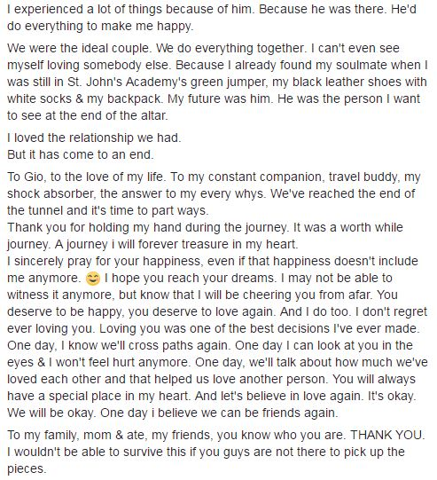 Heartbreaking: This Beautiful Girl Bid Her Final Goodbye To Her 8 Year Relationship and it Goes Viral! Better Read This