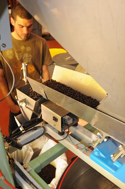 coffee warehouse shute
