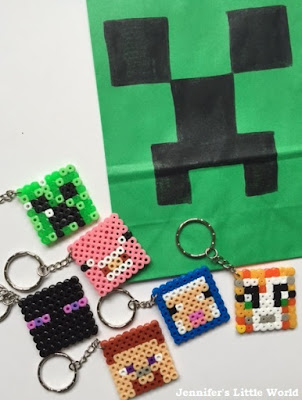 Minecraft party bag fillers