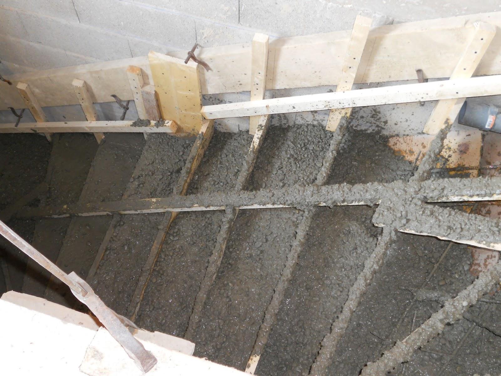 Ap ricube juillet 2013 - Coffrage escalier beton droit ...