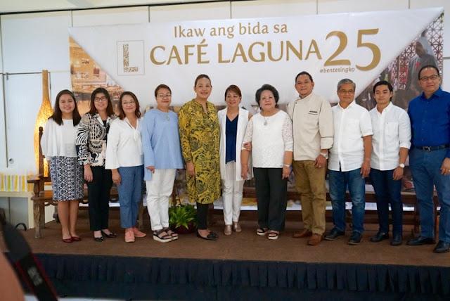 #bentesingko, Julita Urbina, Cafe Laguna, Raki Urbina, Anniversary Buffet