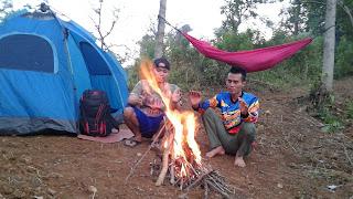 Camping di Curug Kalimata