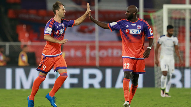 Indian Super League 2016 Results
