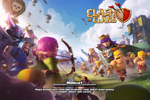 dampak negatif dan bahaya bermain clash of clans