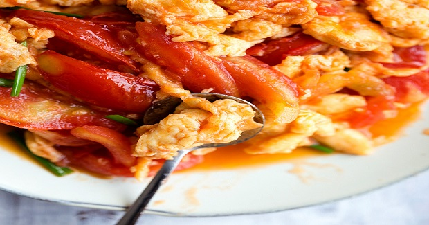 Chinese Tomato And Egg Stir Fry Recipe