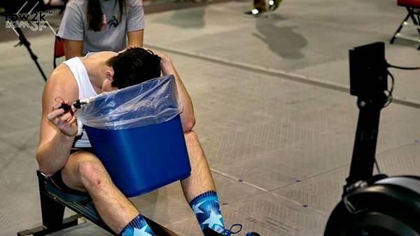 Irse a entrenar con el estómago vacío te puede causar ganas de vomitar