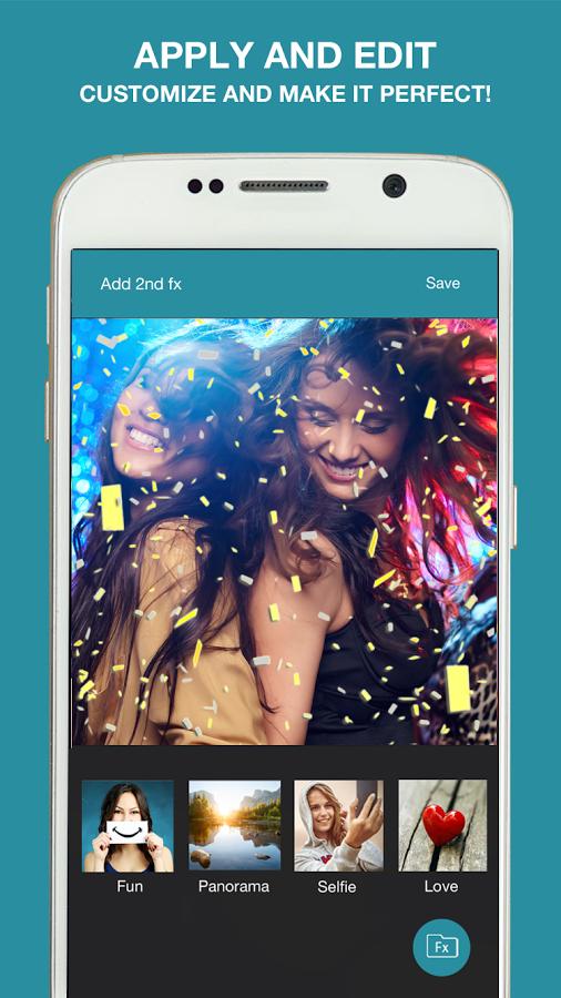 تطبيق Lumyer – Photo & Selfie Editor تأشيرات الفيديو والصور 2017