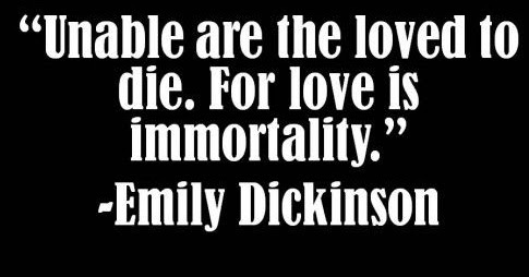 the theme of death in emily dickinsons poetry Browse through emily dickinson's poems and quotes 1232 poems of emily emily elizabeth dickinson was an american poet but i'm sad about her death.