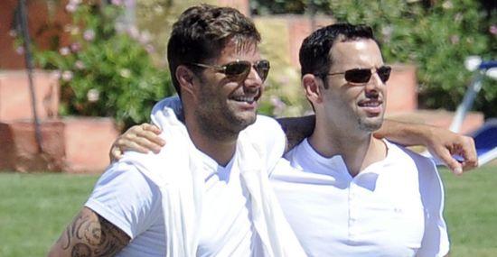 15 fãs que se casaram com seus ídolos - Ricky Martin e Carlos González Abella
