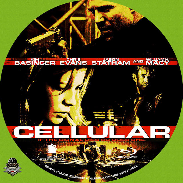 Cellular Bluray Label