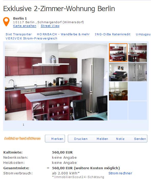 exklusive 2 zimmer wohnung. Black Bedroom Furniture Sets. Home Design Ideas