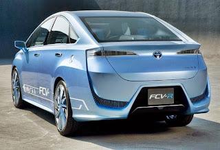 2015 Toyota FCV-R Review