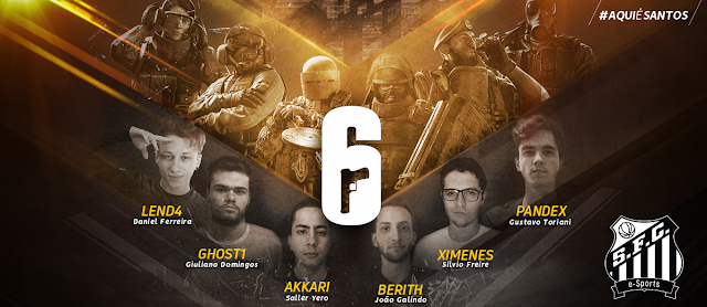 Santos e-Sports Rainbow Six Siege