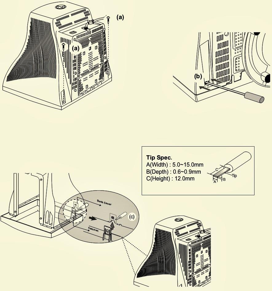 Electro Help  Lg Flatron - F900b