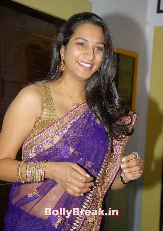 , Surekha Vani Photo Gallery in Purple Saree