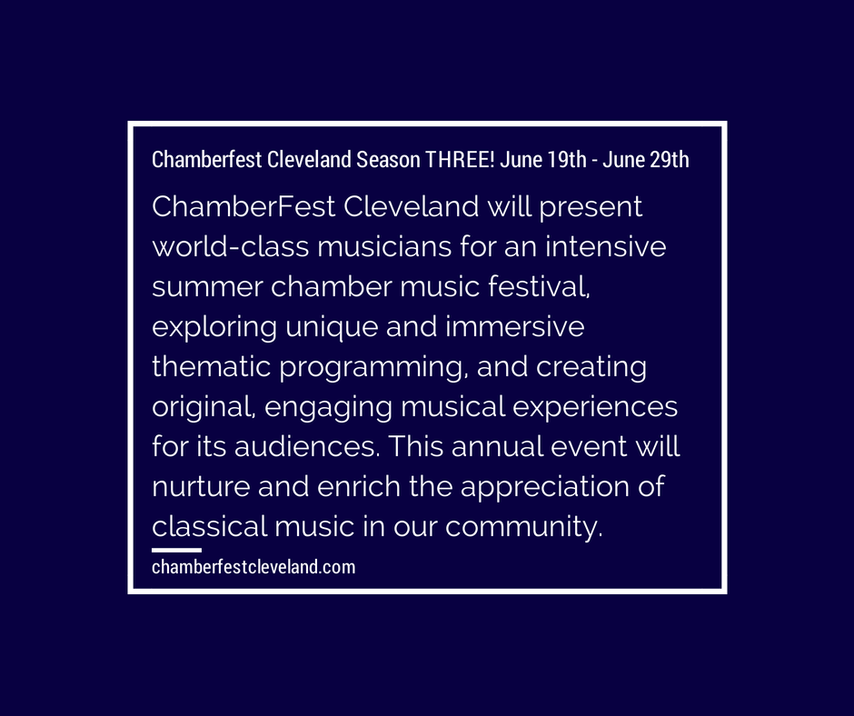 Chamberfest 2014 in Cleveland, Ohio