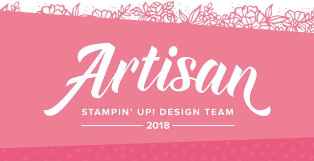 Stampin up-Artisan Tea-2018