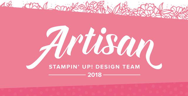 Stampin up-Artisan Tea-2018