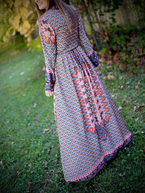 ASOS Maxi Dress, as worn by House Of Jeffers. #boho #gyspy #fashionblogger