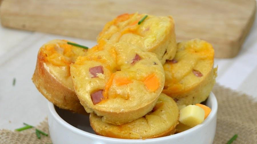 pastelitos de jamón y queso
