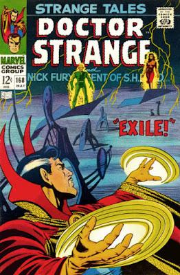 Strange Tales #168, Dr Strange