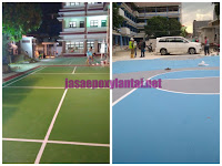 Jasa Pengecatan Lapangan Basket Untuk Sekolah