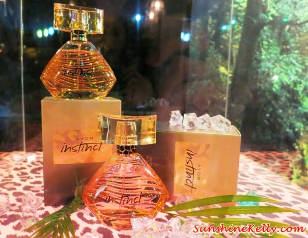 Avon Instinct EDP, Avon, Instinct, eau de parfume, fragrance, megan fox, jungle, foxy affair