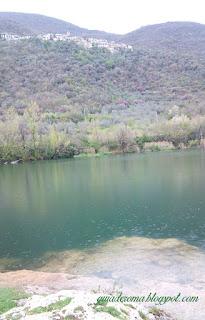Cittaducale, lago em região termal