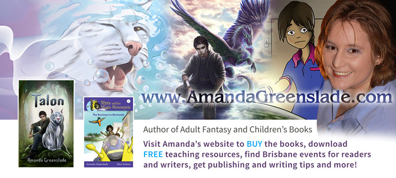 Visit Amanda's Website to buy books and get free school activities