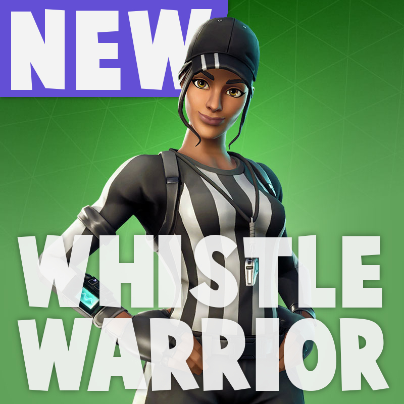 KMS plays fortnite battle royale game with whistle warrior skin