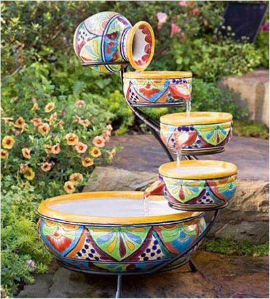 Kate Campbell S Word Garden Sun Splash Solar Fountains