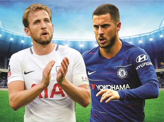 Unbeaten Chelsea face in-form Tottenham at Wembley on Saturday